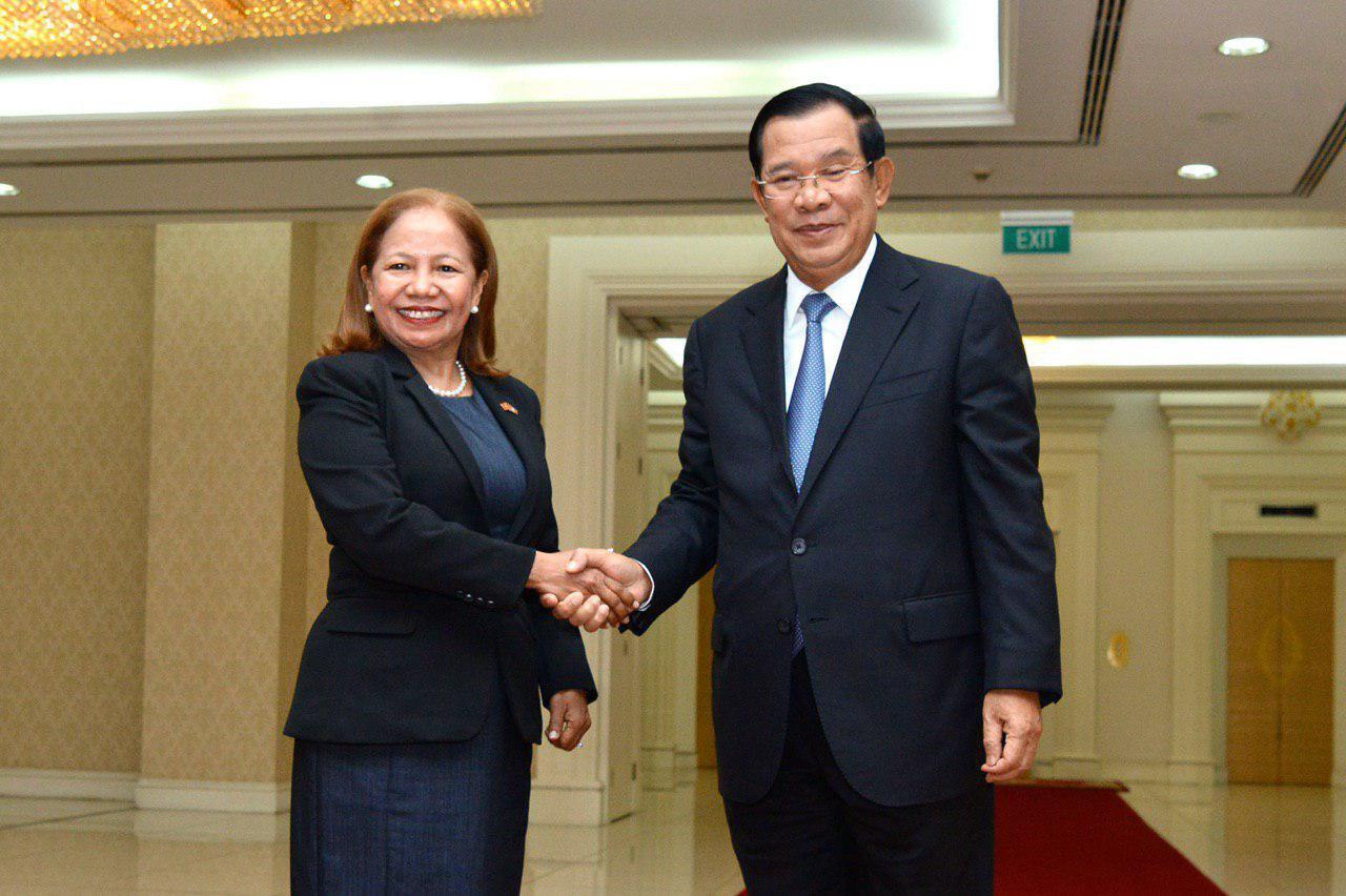 Outgoing Timor-Leste Ambassador Praises Cambodia as a Model Country for Peace-building