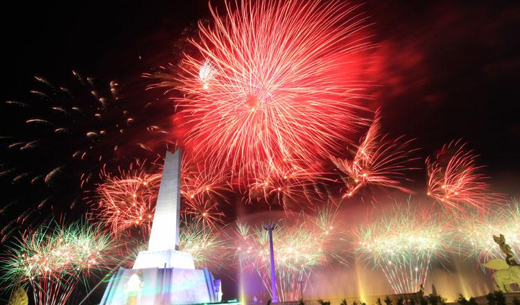 More than three million visit monument