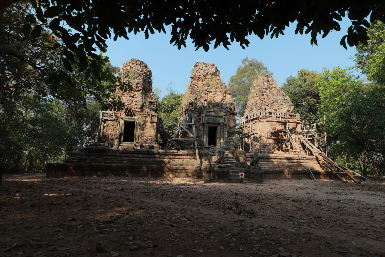 Temple Renovation Nears Completion