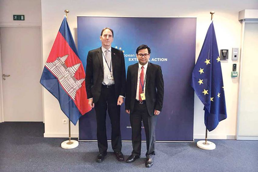 Cambodia Continues Intellectual Property Cooperation with EU