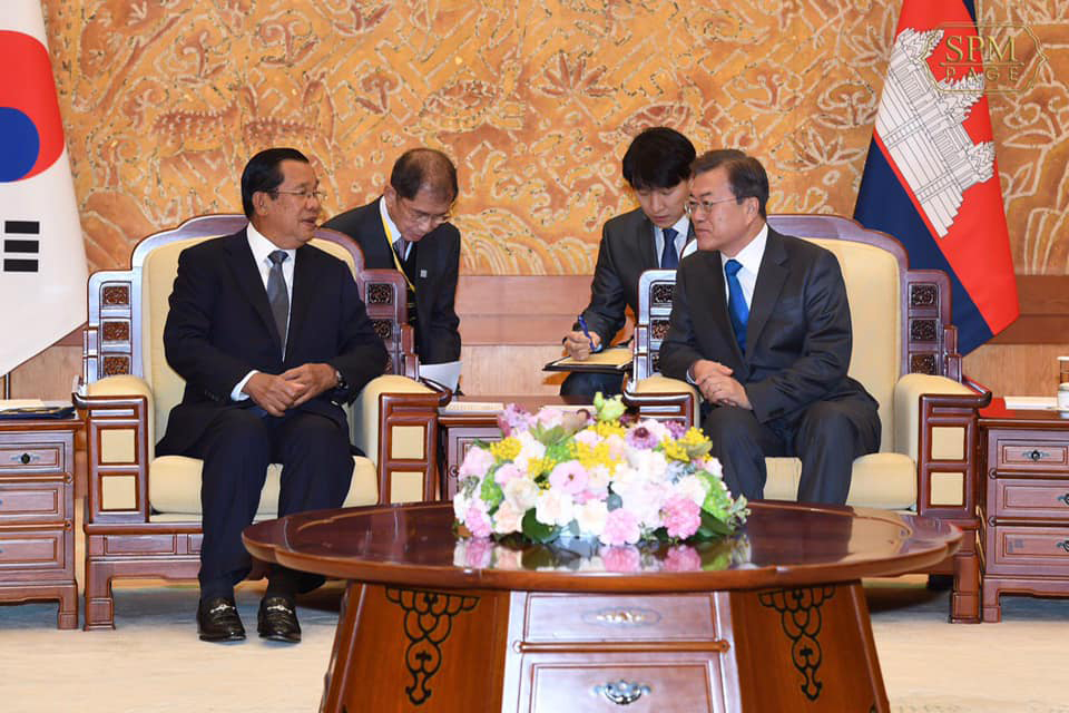 S. Korea President Praises PM Hun Sen: the First to Propose Korea-Mekong Summit