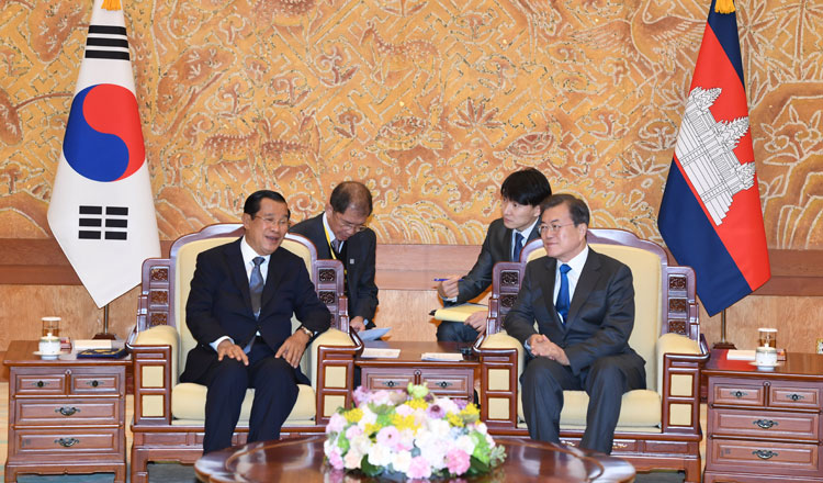 Cambodia's trade volume with South Korea exceeds 1 billion dollars