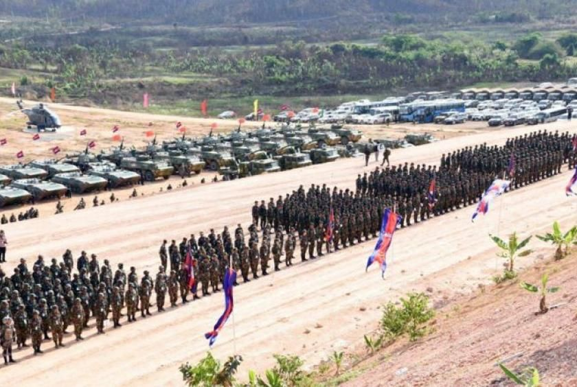 Sino-Cambodian military drill begins