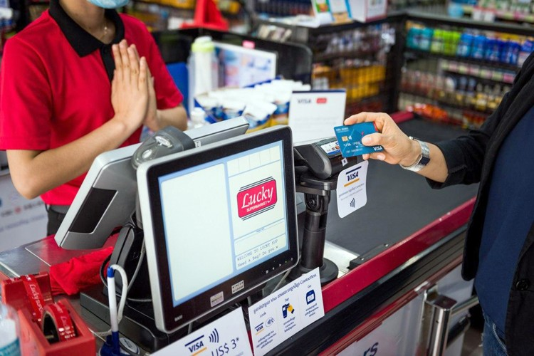 Visa And DFI Lucky Launch Contactless Payments At 41 Branches Across Cambodia
