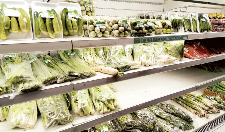 Government issues certificates to prove produce is truly organic