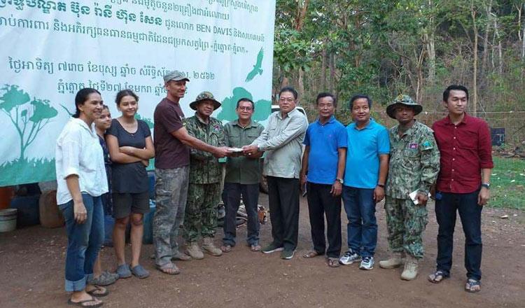 Conservationist Receives $20K Grant for Wildlife and Land Preservation Efforts