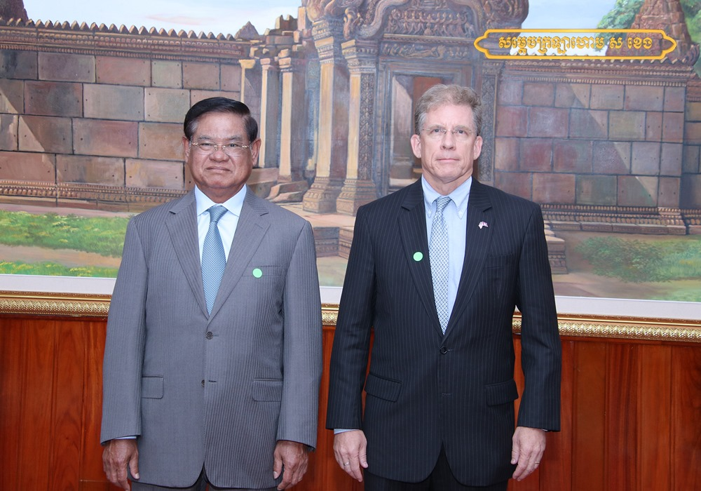 US and Cambodia talk cybersecurity ongoing assistance