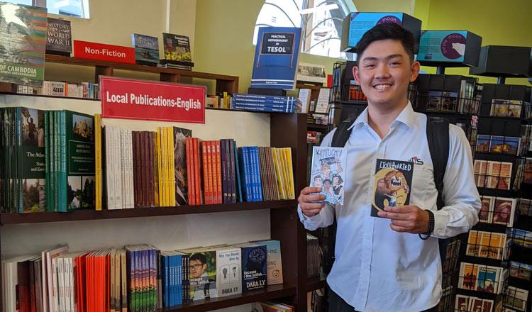 Meet Techhong: Cambodia's new generation writer