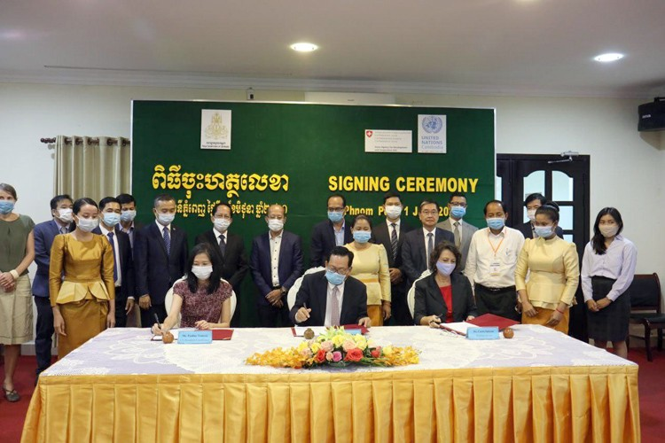 Cambodia, UN Sign Agreement on Phase II of Decent Employment for Youth Joint Programme