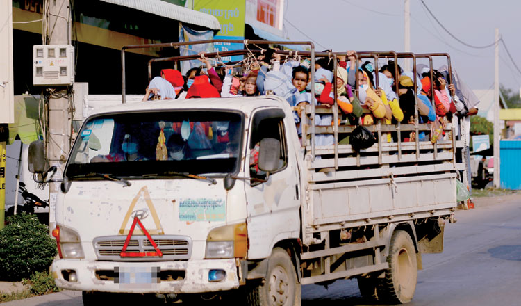 Campaign seeks road safety measures for garment workers