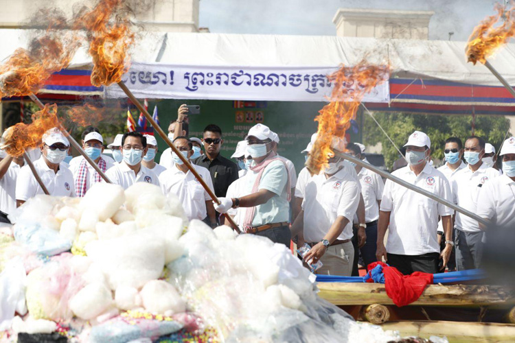 Cambodia Marks International Day Against Drug Abuse And Illicit Trafficking