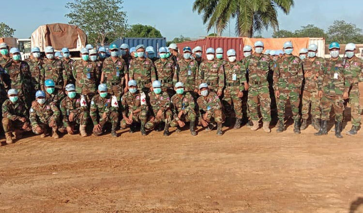 Cambodian peacekeeping officer dies of COVID-19