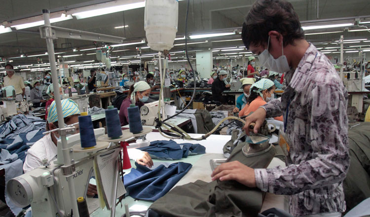 """Better Factories Cambodia launch """"COVID 19: Worker Safety"""" hotline: 093 644 644"""