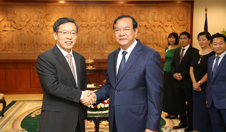 Cambodia, China to sign agreement on the Mekong-Lancang Fund
