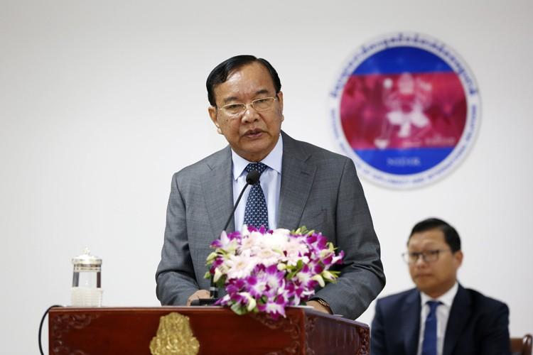 DPM Prak Sokhonn Presides Over Policy Dialogue Forum On Cambodia's Response To COVID-19