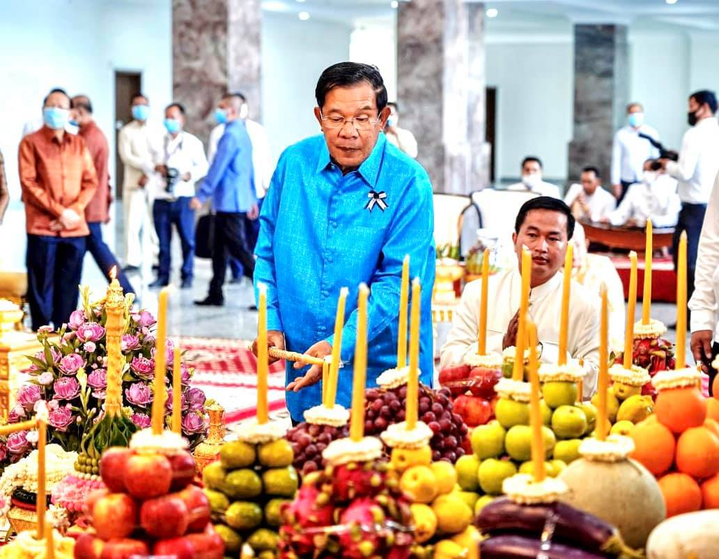 "PM To Observe ""Chol Vossa"" Festival This Afternoon At Champous Kaek Pagoda"
