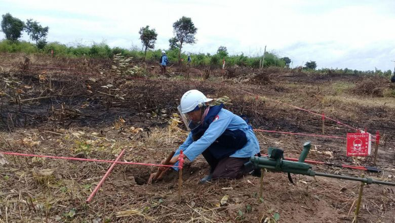 South Korea to Give $10m for Demining Activities in Cambodia