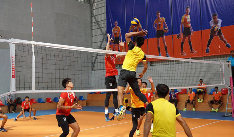 Volleyball: Cambodia ranks 136th in the world, 5th in SEA