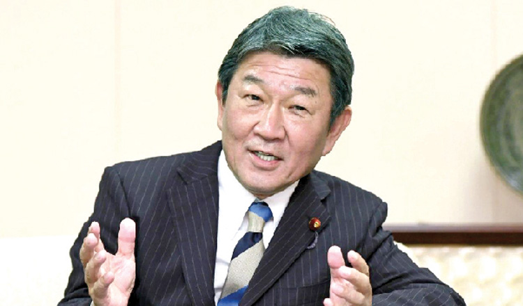 Japanese minister to boost ties during visit