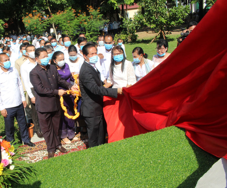 Inauguration Ceremony Of A Statue At Choeung Ek Killing Field