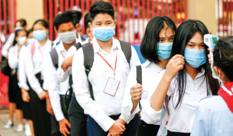 Secondary Schools in Phnom Penh to Reopen Next Week