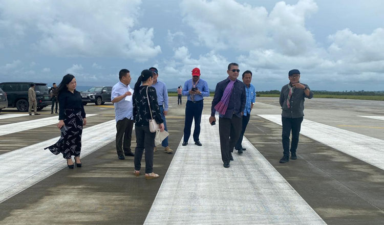 Luxury new international airport 'to be operational by mid-2021'
