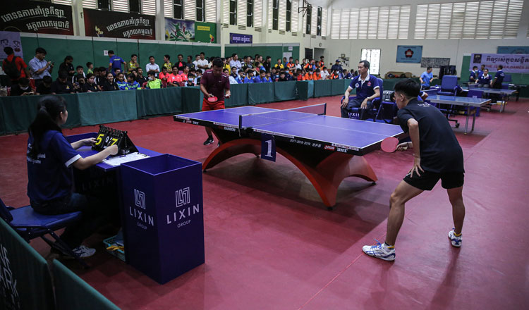 National Table Tennis Championship kicks off