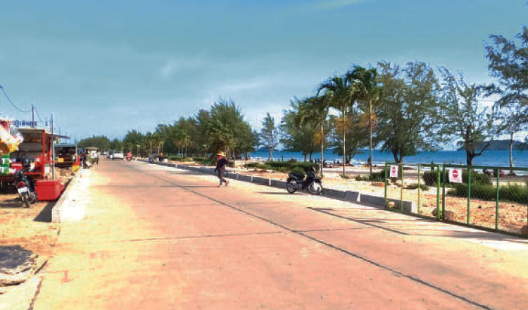 New roads in Sihanoukville give city new lease of life