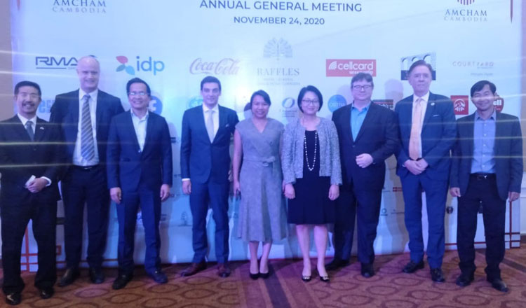 AmCham elects new board during AGM