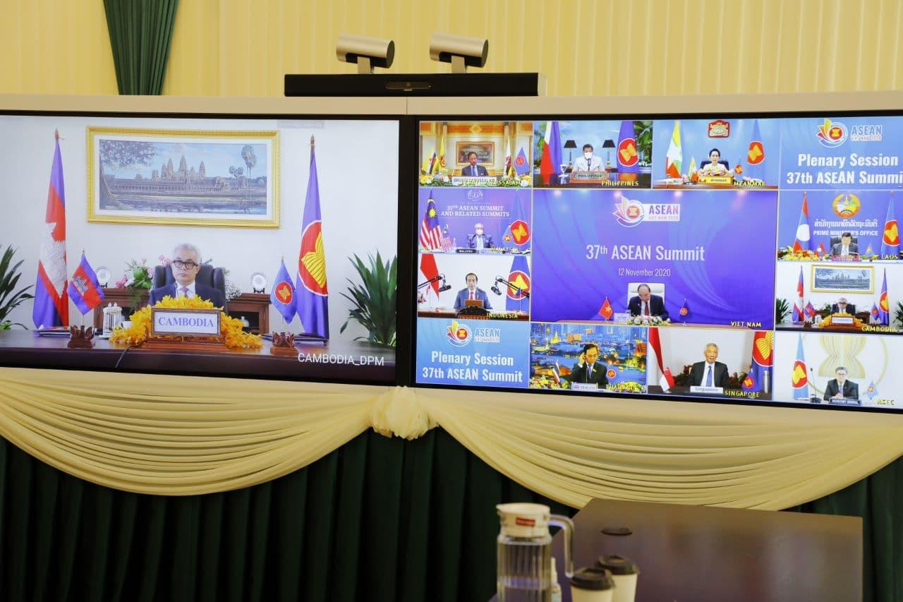 Cambodia Releases Outcomes of the ASEAN Foreign Ministers' Meeting via Video Conference