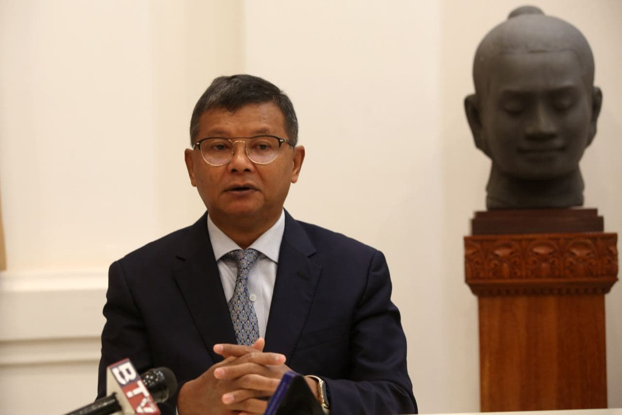 Education Minister Holds Press Conference On School Reopening