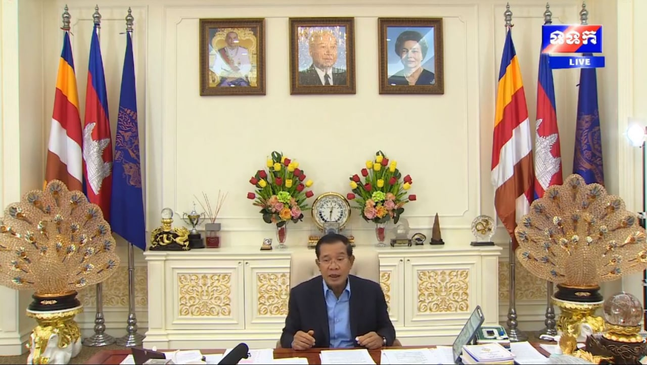 Cambodian PM Reaffirms Commitment Not Declare The State Of Emergency