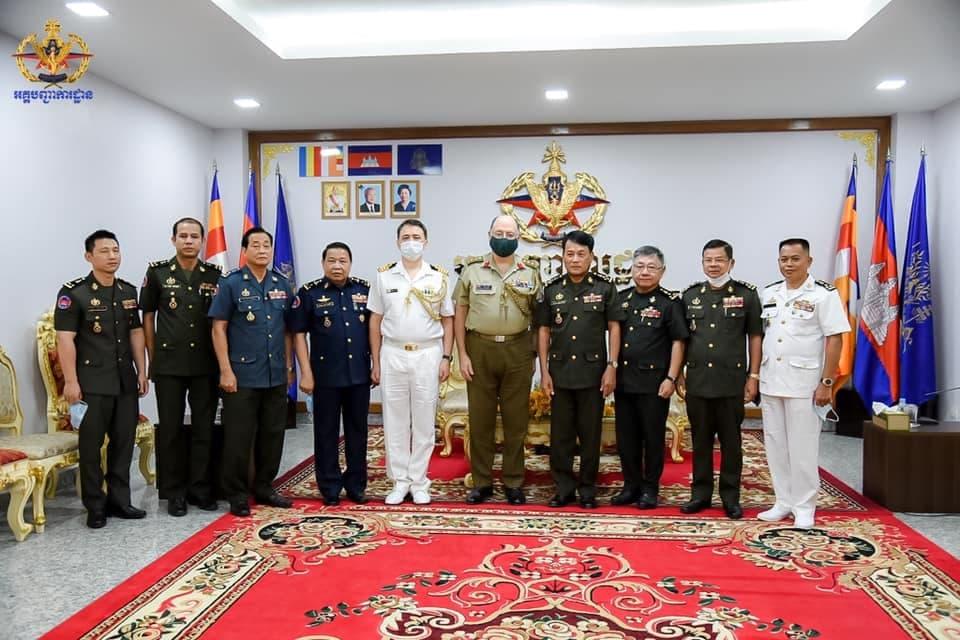 Cambodia, Australia Laud Bilateral Military Cooperation