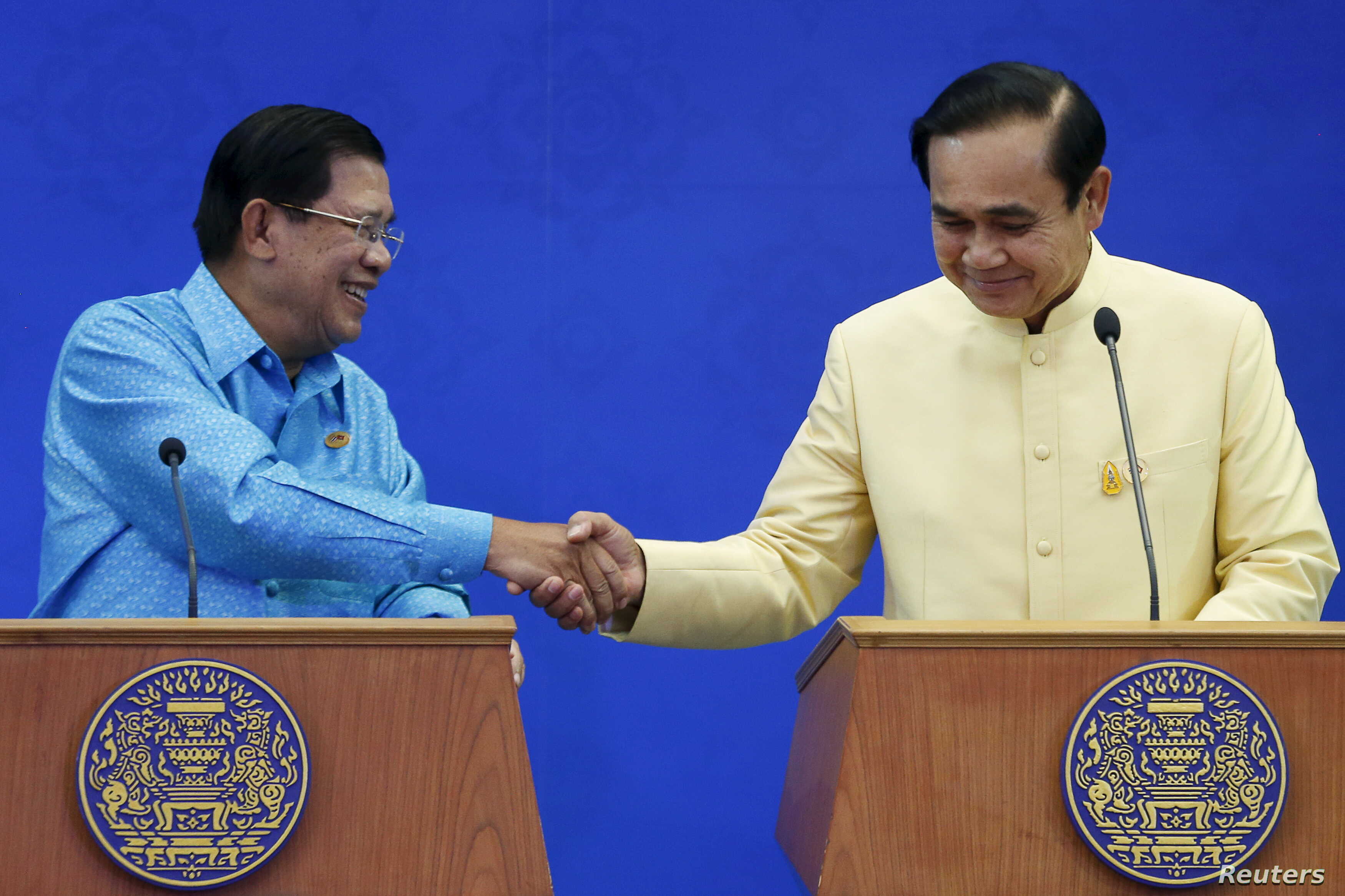 Thailand Affirm Stronger Relations And Cooperation With Cambodia