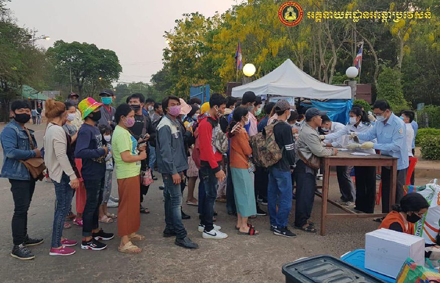 Another Cambodian migrant worker tested positive for COVID-19, 3 Recovered