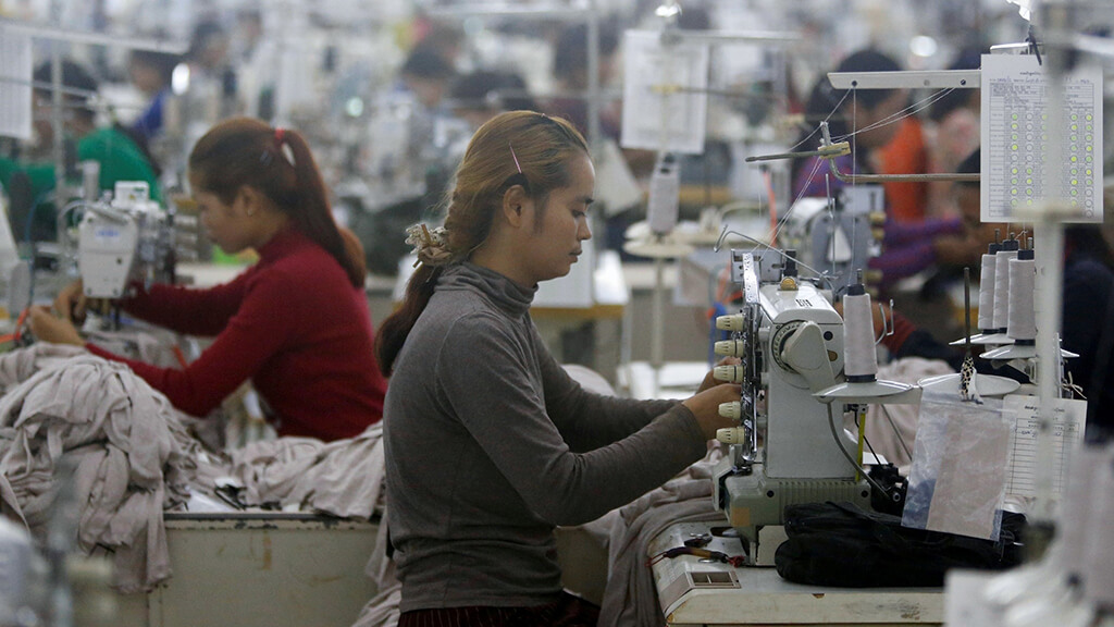 A $7.8 million garment factory project approved by CDC