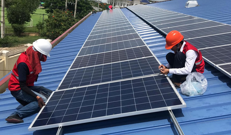 Four solar power stations coming online