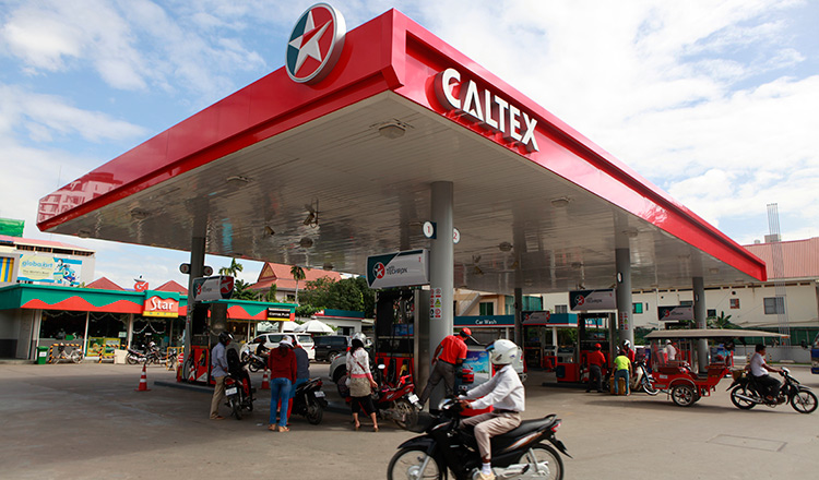 Chevron plans to open up to 100 new Caltex service stations in Cambodia