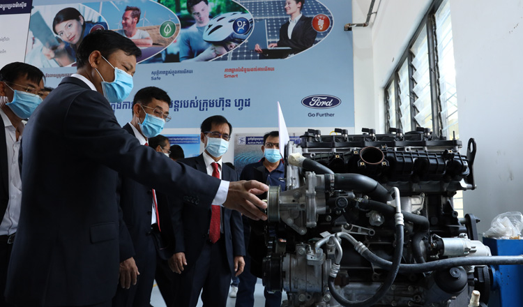 NPIC and RMA Cambodia join in launch of Ford Technical Training Workshop