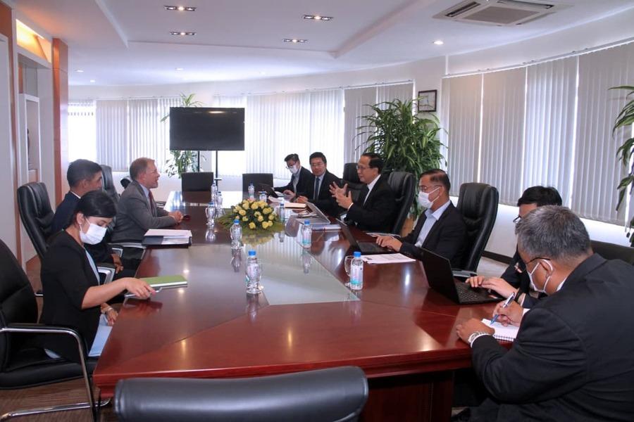 Cambodia, U.S. Reaffirm Commitment To Continue Close Cooperation