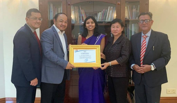 Boosting Tourism from India to Cambodia Discussed with Envoy