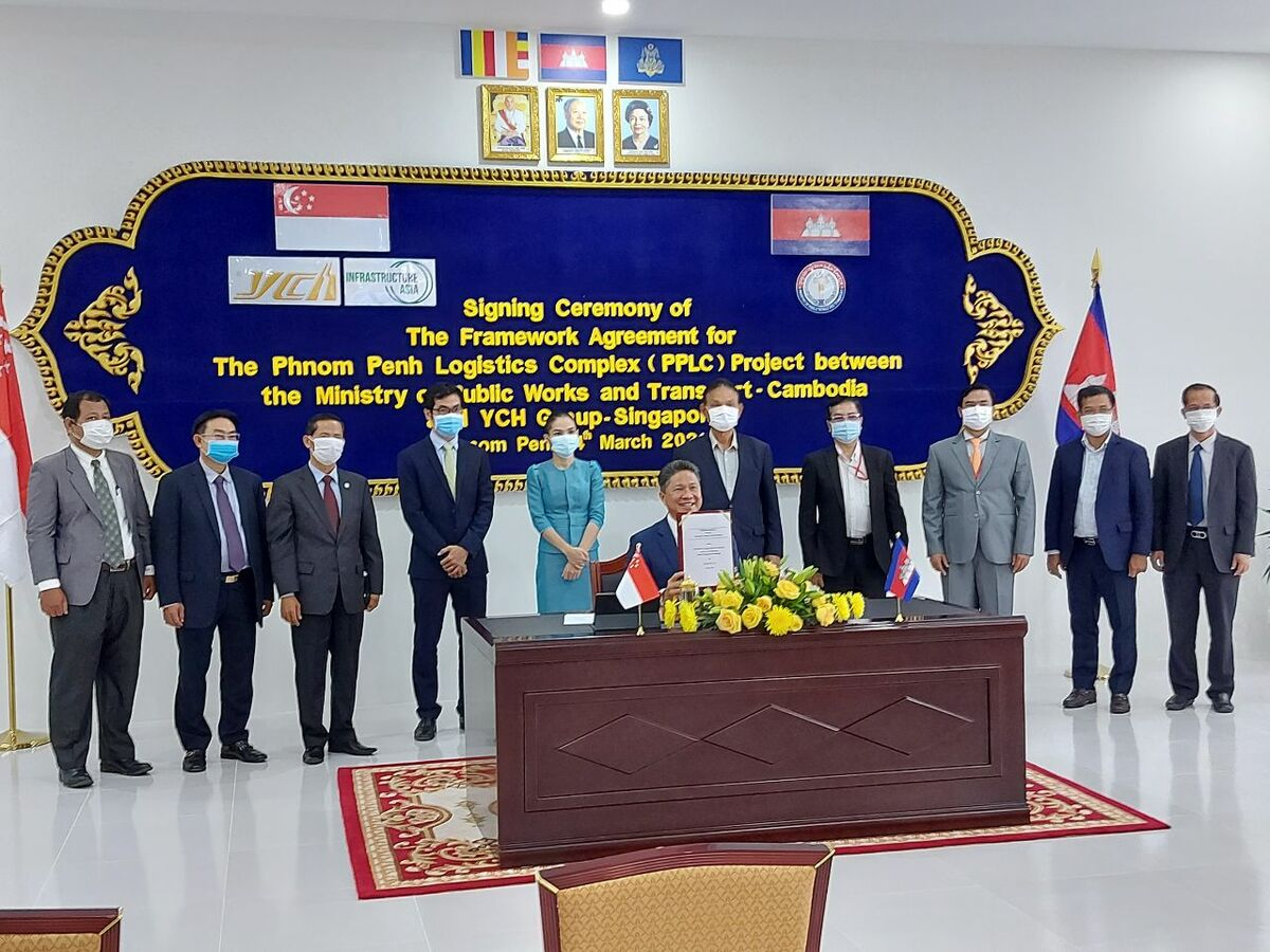Framework Agreement for Phnom Penh Logistics Complex Signed