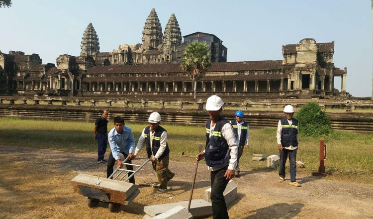 Angkor preservation continues in preparation for future tourism