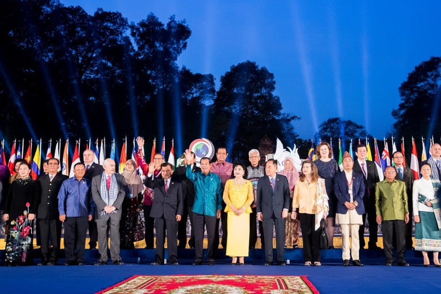 Cambodian PM Makes Congratulation Statement To 2nd Asian Cultural Council Meeting