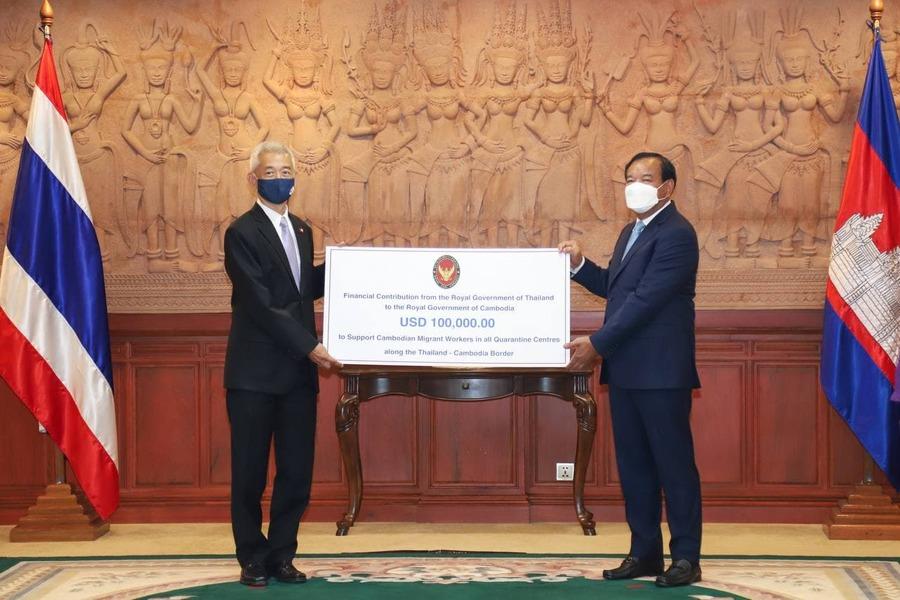 Thailand Donates US$100,000 For COVID-19 Quarantine Centres Of Migrant Workers