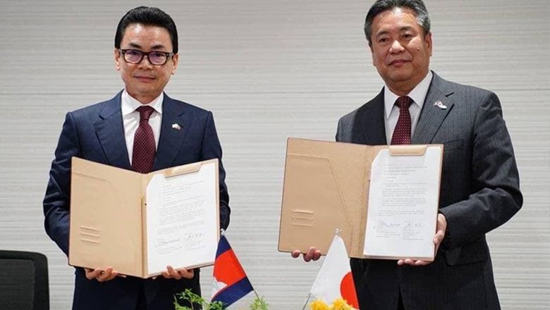 Cambodia, Japan Sign Contract on Phnom Penh Sewage Development Project