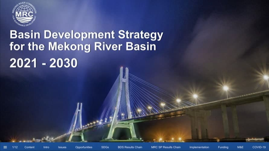 Mekong River Commission Unveils Strategy And Action Plan