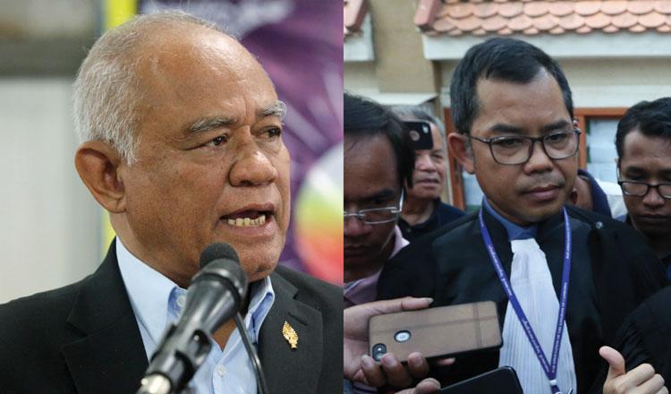 Pol Ham and Sokha's lawyer granted political rehabilitation