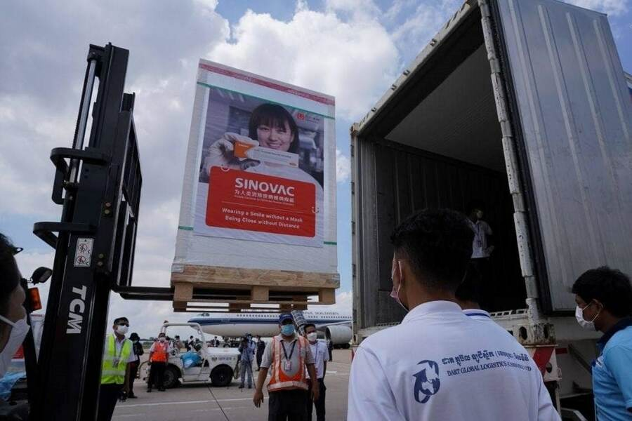 Another 500k Doses of Sinovac Vaccine to Arrive in Cambodia