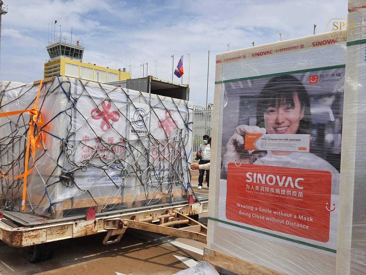 500k of Sinopharm and 500k of Sinovac Vaccines Arrived